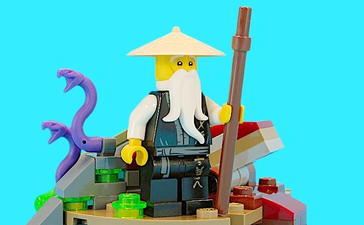 レゴ ウー先生のミニフィグ