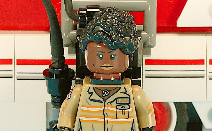 レゴ パティ・トランのミニフィグ