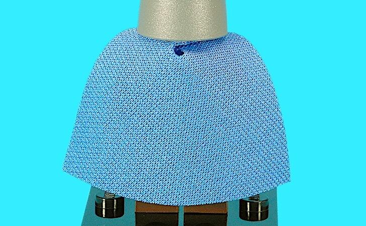 青いマント