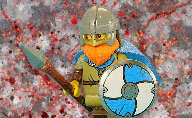 レゴ バイキングのミニフィグ