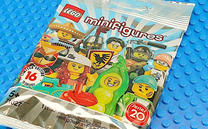 レゴ ミニフィギュア シリーズ20のパック
