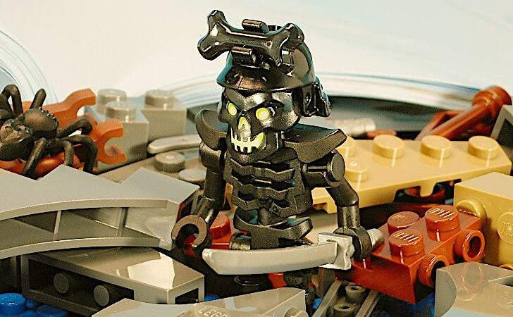 レゴ ホネホネ・アーミーのミニフィグ