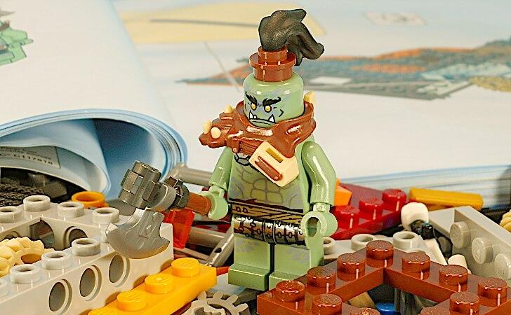 レゴ マートのミニフィグ