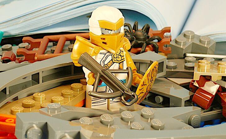 レゴ ゼンのミニフィグ