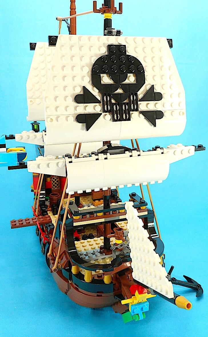 海賊船のサイズ