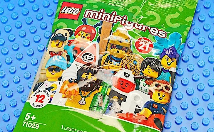 レゴ ミニフィギュア シリーズ21 71029のパッケージ